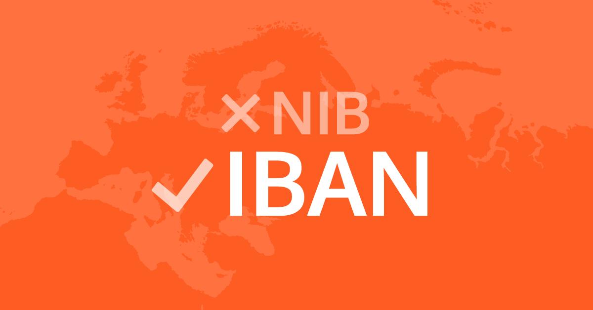 Como converter NIB em IBAN